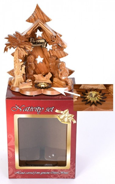 Wholesale Adorable Small Nativity Sets - 2,500 Nativities @ $18.75 Each