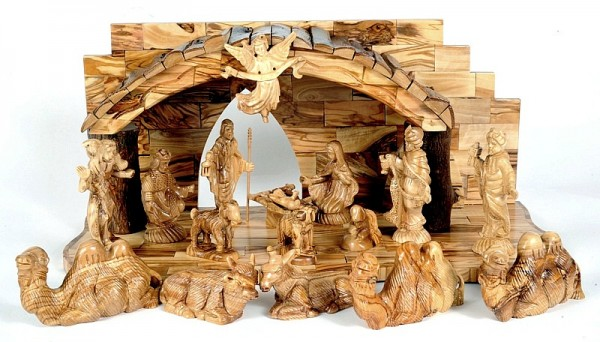 Beautiful Unique Indoor Nativity Set - 4 Nativity Scenes @ $819 Each