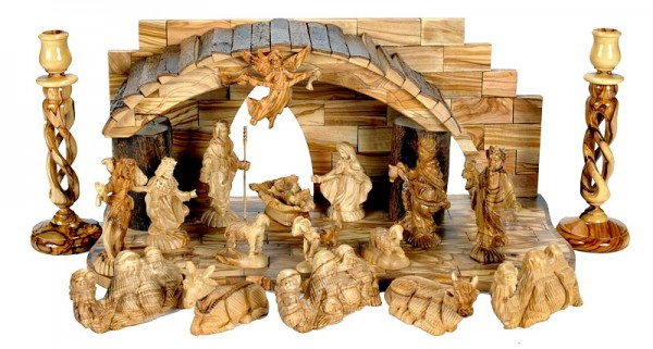 Beautiful Unique Musical Nativity Scene - 5 Nativity Scenes @ $820 Each