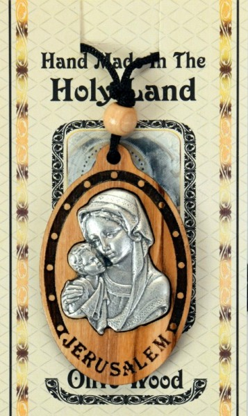 Wholesale Madonna and Child Necklaces - 4,000 Necklaces @ $3.14 Each