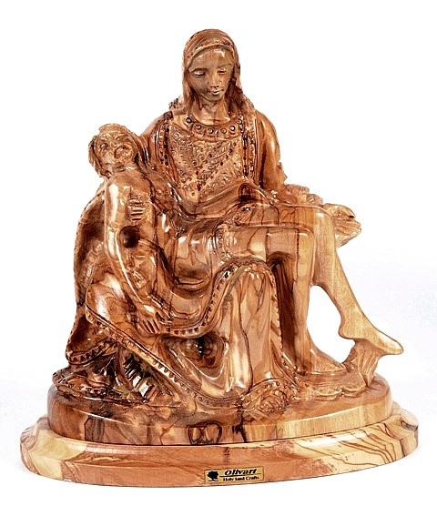 Holy Land Pieta Carving - 2 Statues @ $229.00 Each