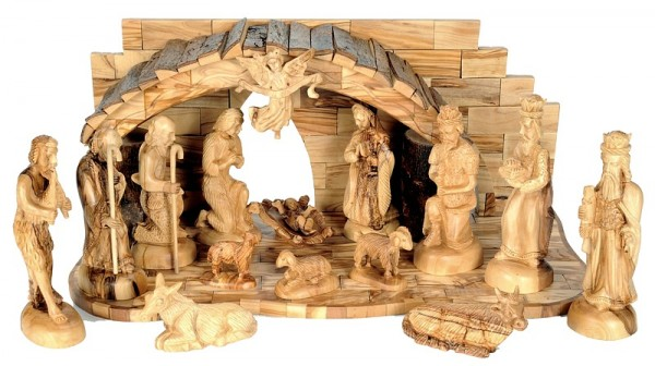 Large Exquisite Nativity Scene Set - 4 Nativity Scenes @ $859 Each