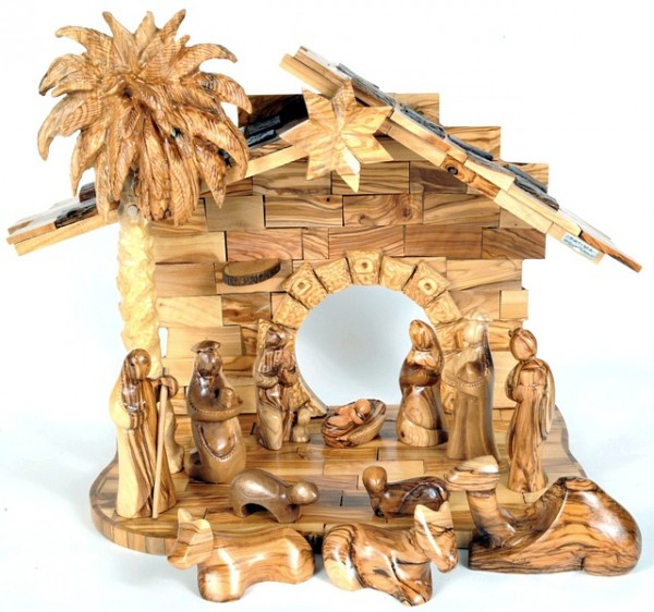 Large Indoor Modern Musical Nativity Set - 2 Nativity Scenes @ $495 Each