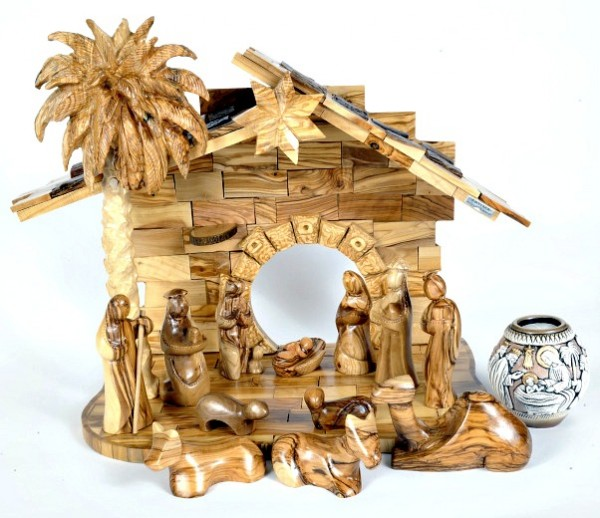 Large Indoor Modern Nativity Scene (Musical) - 4 Nativity Scenes @ $499 Each