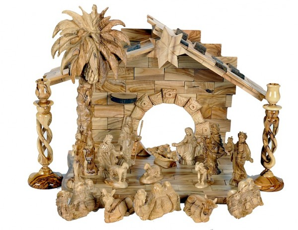 Lovely Large Musical Indoor Nativity Scene - 3 Nativity Scenes @ $1060 Each
