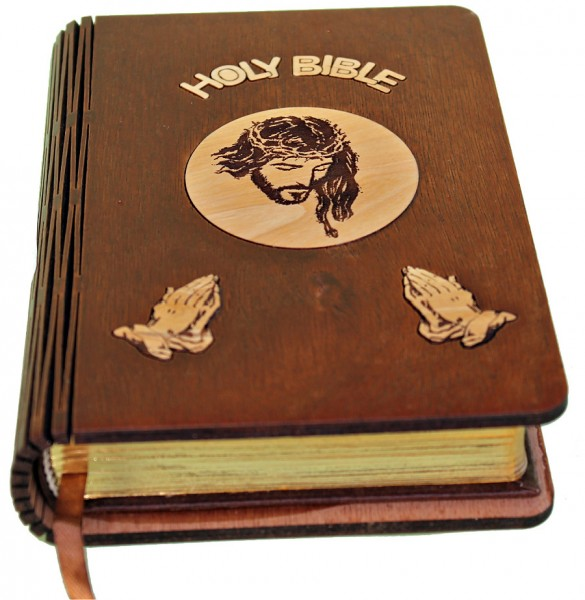 Wholesale Olive Wood Bibles - 100 Bibles @ $35.50 Each