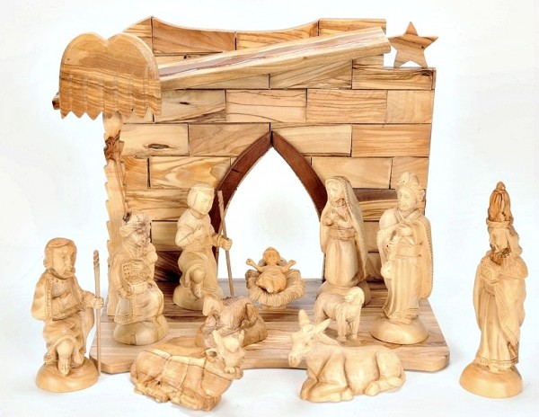 Olive Wood Nativity Set - 5 Nativity Scenes @ $295 Each
