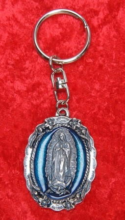 Wholesale Our Lady of Guadalupe Key Chains - 400 Key Chains @ $2.09 Each