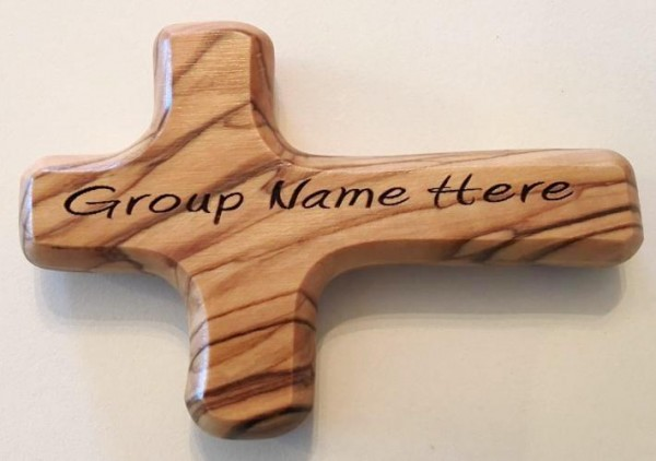 Personalized Engraved Wooden Comfort Crosses in Bulk - 8,000 Crosses @ $4.35 Each