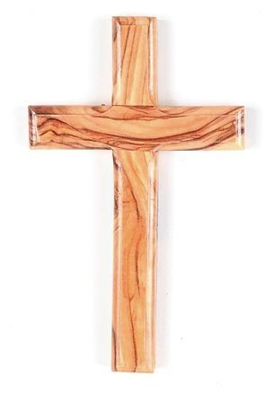 "Small (4.75"") Wooden Wall Crosses (Bulk volume discount) - 100 Crosses @ $1.99 Each"