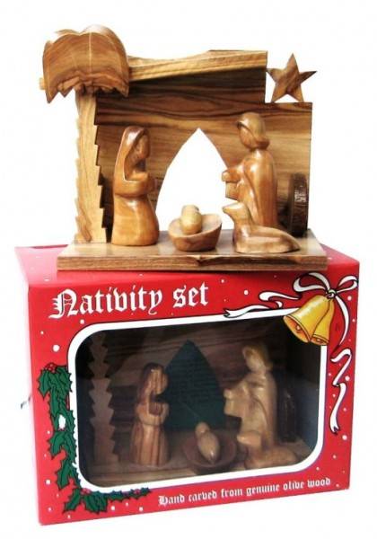 Small Modern Art Nativity Sets in Bulk - 500 Nativity Scenes @ $35 Ea