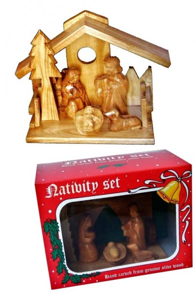 Small Unique Holy Land Nativity Scenes in Bulk - 10 Nativity Scenes @ $48.95 Ea