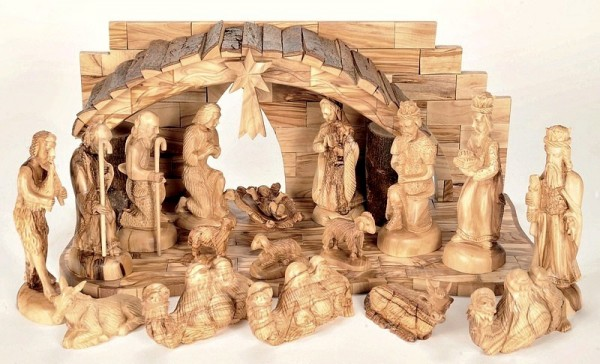 Unique Large Indoor Musical Nativity Scene Set - 5 Nativity Scenes @ $940 Each