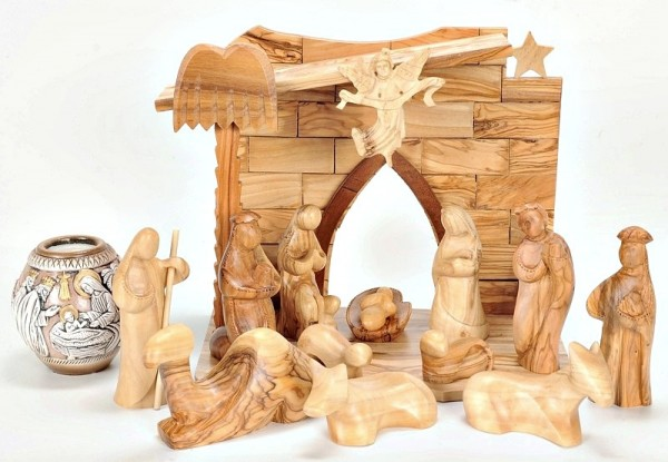 Unique Modern Catholic Nativity Scene Set - 4 Nativity Scenes @ $309 Each