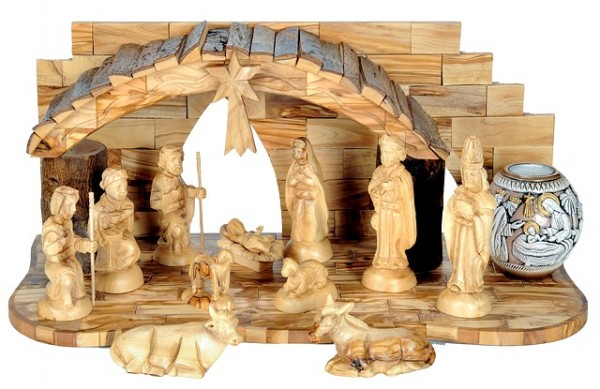 Unique Nativity Set with Nativity Candle - 2 Nativity Scenes @ $445 Each