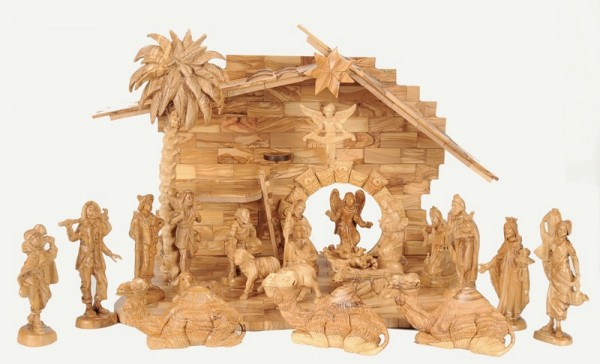 Very Large Indoor Holy Land Nativity Set - 3 Nativity Scenes @ $2110 Each