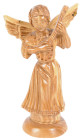 Angel with Lyre Statue 7 Inches