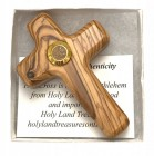 Gift Boxed Comfort Crosses with Holy Land Soil