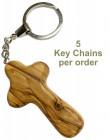 Hand Held Comfort Cross Key Chains Bulk Price
