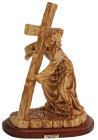 Jesus taking up the Cross Statue 7.25 Inches