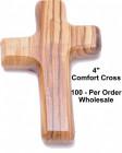 Wholesale Wooden Comfort Crosses