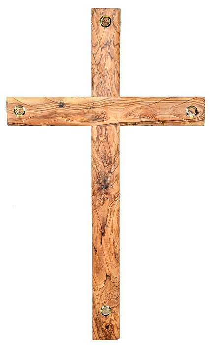 This Large Hand Carved Wall Cross Comes With Our Gift Card And A Certificate Of Authenticity