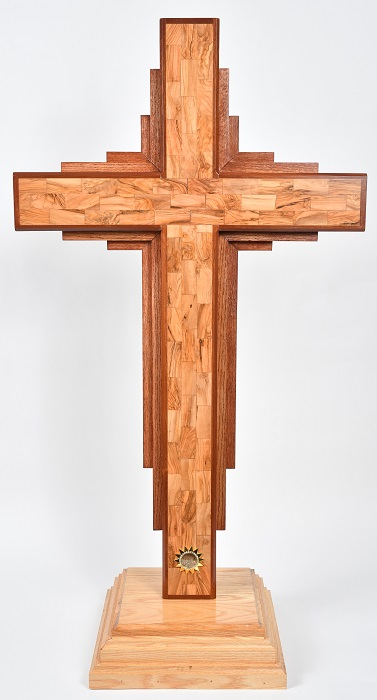 Large 4 2 Quot Free Standing Contemporary Cross Holy Land